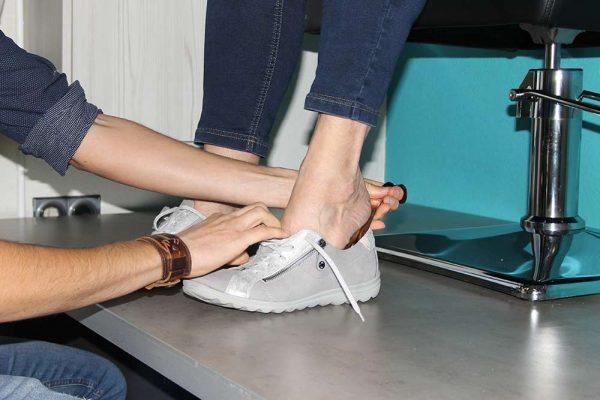 Passen schoenen